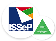ISSeP Institut scientifique de service public / Surveillance de l'air